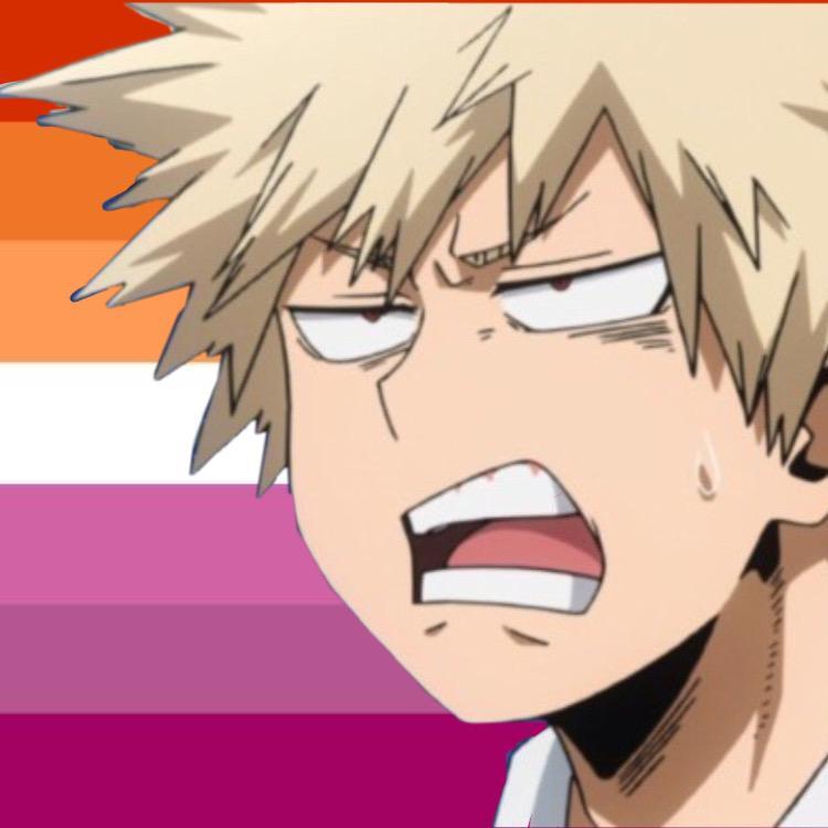 bakugo's lesbian mom TikTok avatar