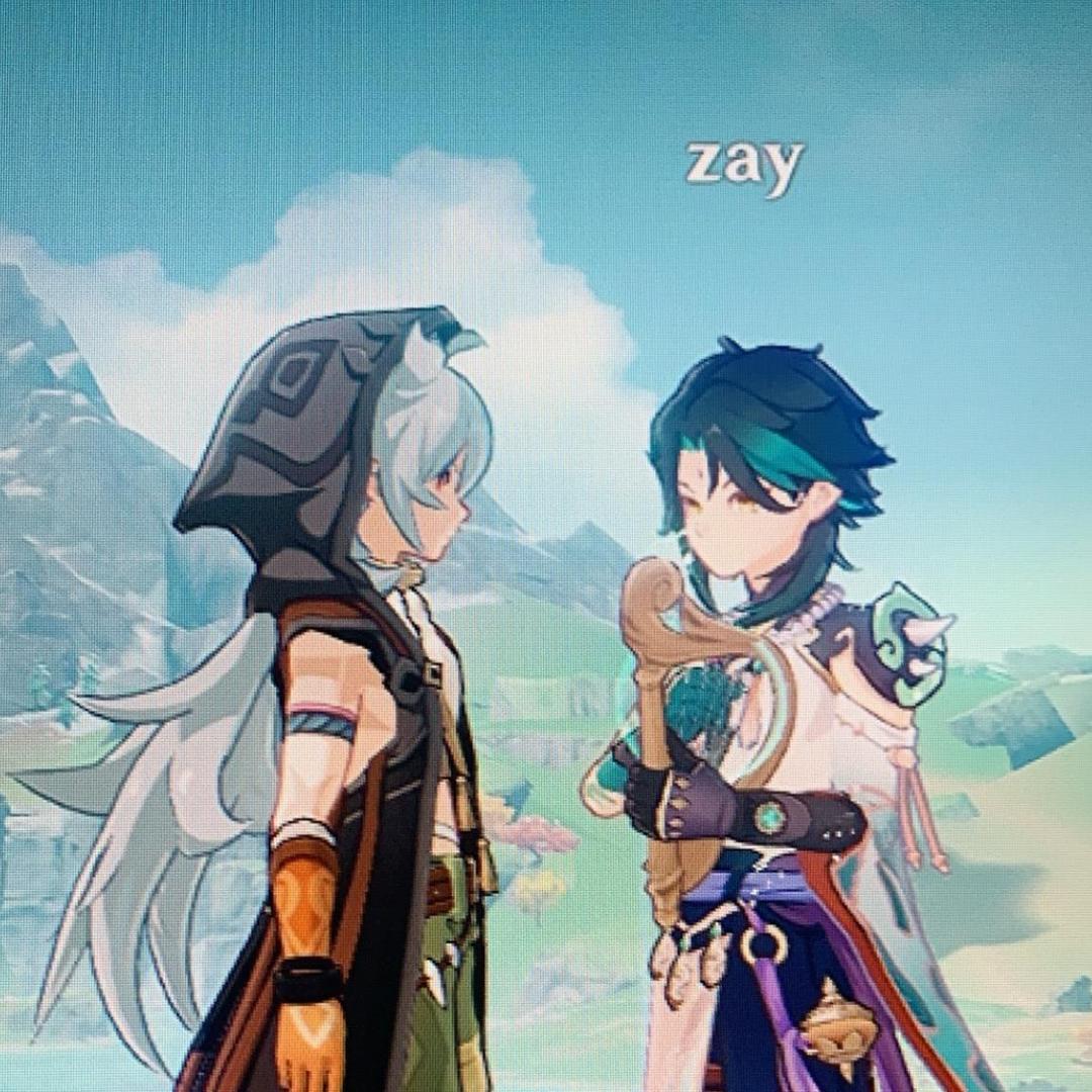 i ♥️ venti and xiao TikTok avatar