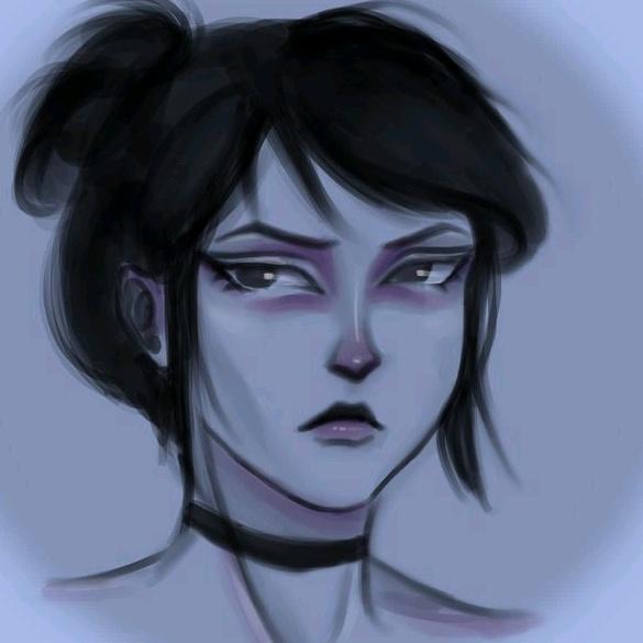 a brat in the net TikTok avatar