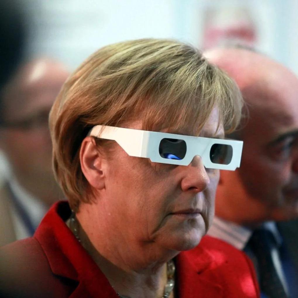 Mrs. Merkel TikTok avatar