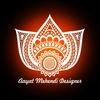 aayat mehndi designe TikTok avatar